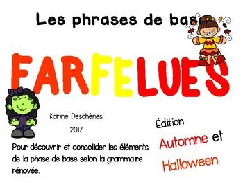 Phrases farfelues-Édition Automne et Halloween