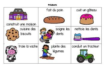 """Phrases farfelues-Édition """"Les métiers de ma communauté"""""""