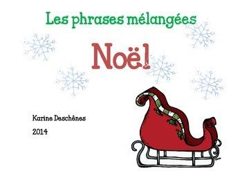 Phrases mélangées de Noël