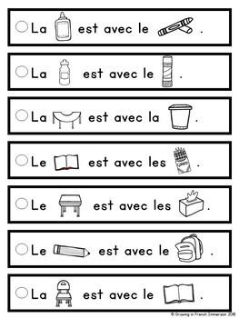 Phrases simples: La rentrée -  French