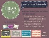 Phrases utilies