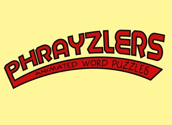 Phrayzlers ~ Animated Word Puzzles Very Challenging Set