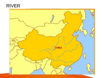 Phsical Map of China Layered Activity