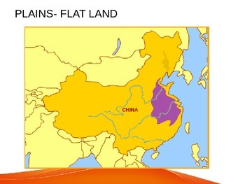 Phsical Map of China Layered Activity