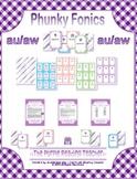Phunky Fonics ~ au/aw phonics pattern card game