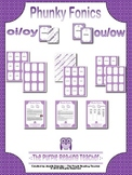 Phunky Fonics ~ oi/oy & ou/ow phonics pattern card game