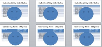 Phyla Classification Writing Prompt, Guided Outline, Scoring Rubric