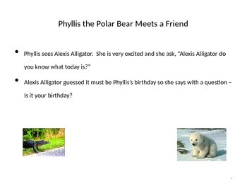 Phyllis the Polar Bear Describes Winter
