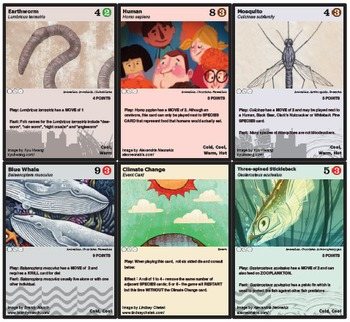 Phylo: Educational Ecosystem Trading Card Game - Base Deck