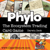 Phylo: Educational Ecosystem Trading Card Game - Darwin Deck