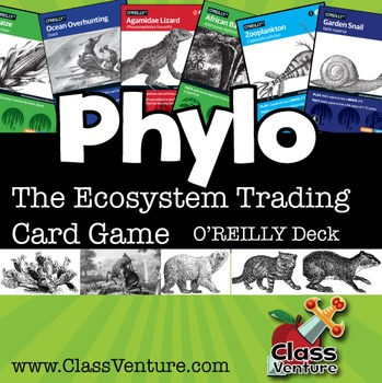 Phylo: Educational Ecosystem Trading Card Game - O'REILLY Deck