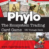 Phylo: Educational Ecosystem Trading Card Game - UK Vintage Deck