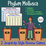 Phylum Mollusca (Mollusk) Jeopardy Review Games