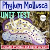 Phylum Mollusca Unit Test