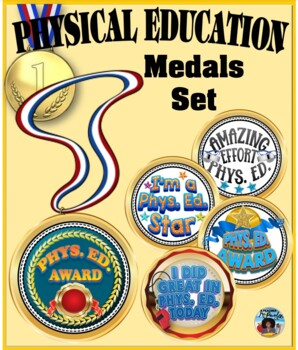 Phys. Ed. Award Medals Set