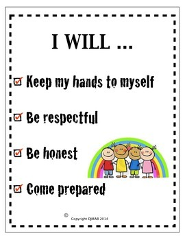 Phys Ed Rules and Expectations