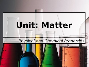 Physcial and Chemical Properties