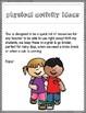 Physical Activities Idea Binder *Growing*