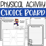 Physical Activity Choice Board