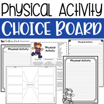 Physical Activity Choice Board