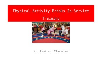Physical Activity Break In-Service Training