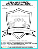 Physical Activity Coloring Badge