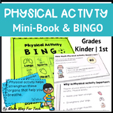 Physical Activity Printable Mini-Book and Bingo Game | Exercise