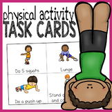 Physical Activity Cards - Exercise Cards