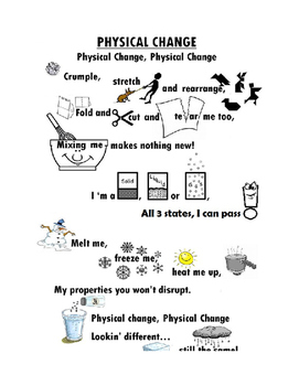 Physical Change Chant
