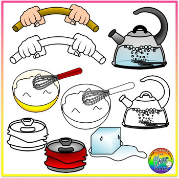 Physical Changes Clipart