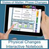 Physical Changes (Including Solids, Liquids, Gas) Digital