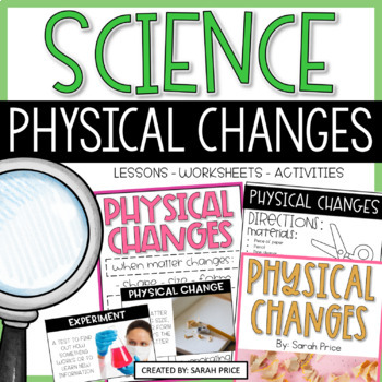 Physical Changes Interactive Notebook