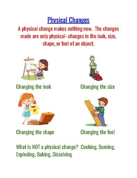 Physical Changes Unit