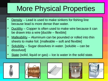 Physical Changes and Chemical Changes ppt