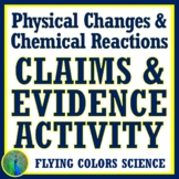 NO PREP Physical and Chemical Changes to Matter Activity C