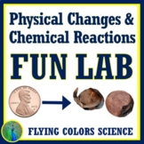 Physical and Chemical Changes to Matter Lab Activity