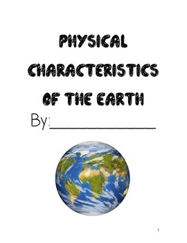 Physical Characteristics, Landforms, Bodies or Water