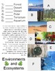 Physical Characteristics of Ecosystems Packet