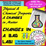 Physical & Chemical CHANGES in a BAG Action LAB