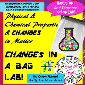 Physical & Chemical Changes Baggy BOOM! LAB