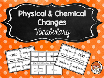 Physical & Chemical Changes - Growing Bundle