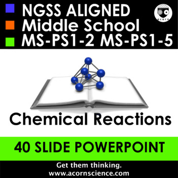 Middle School NGSS Physical Chemical Changes MS-PS1-2 Aligned Powerpoint
