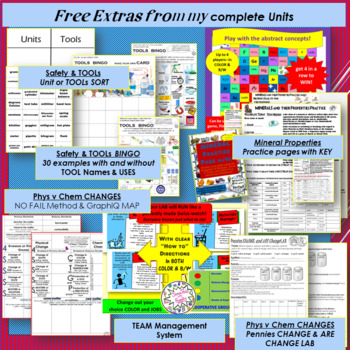 Physical & Chemical Changes Mystery White Powder LAB