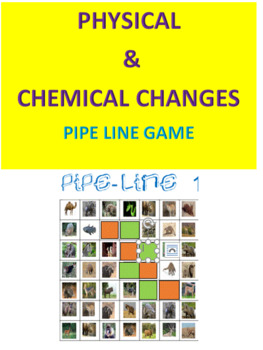 Physical & Chemical Changes Pipe Line Game