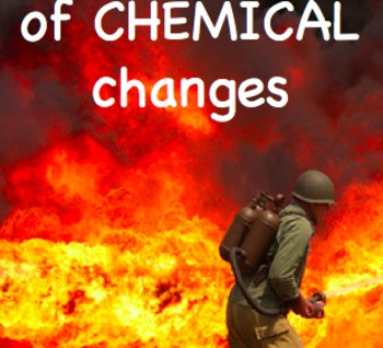 Physical & Chemical Changes Powerpoint Middle School 6 7 8 9th grade