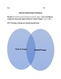 Physical & Chemical Changes in Matter Activity