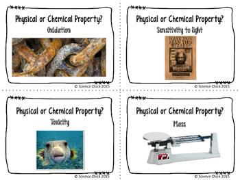 Physical & Chemical Properties Flash Cards