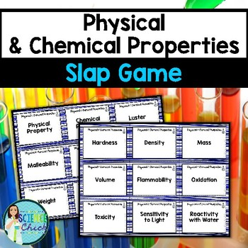 Physical & Chemical Properties Slap Game