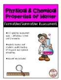 Physical & Chemical Properties of Matter - Assessment