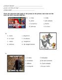Physical Descriptions Vocab Practice Worksheet